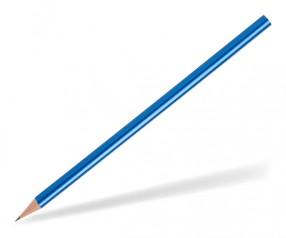 STAEDTLER Bleistift Werbeartikel 16140W rund blau-metallic
