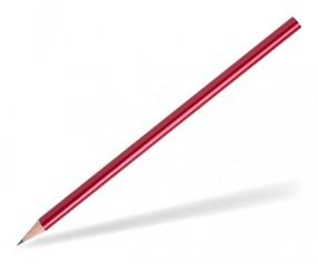 STAEDTLER Bleistift Werbeartikel 16140W rund rot-metallic