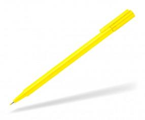 STAEDTLER Triplus Broadliner 338 w Fineliner Werbeartikel 0,8 mm gelb