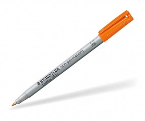 Folienstift Werbegeschenk STAEDTLER Lumocolor 315 W non-permanent 1,0 mm orange