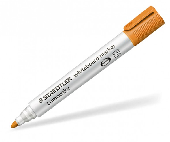 STAEDTLER Lumocolor Whiteboard Marker 351W Rund orange