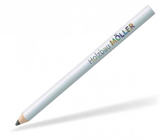 STAEDTLER Zimmermannsstift mit Digitaldruck 16815W weiss
