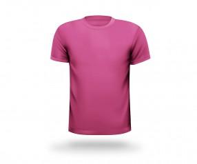 T-Shirt bedrucken runder Halsausschnitt Werbeartikel HANNOVER fuchsia