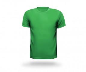 T-Shirt bedrucken lassen mit Halsausschnitt rund Werbeartikel BREMEN grün