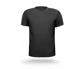 T-Shirt mit Druck runder Halsausschnitt Werbeartikel KÖLN schwarz