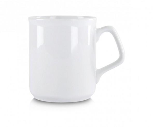 Werbeartikel Kaffeebecher weiss incl. High-Quality Druck
