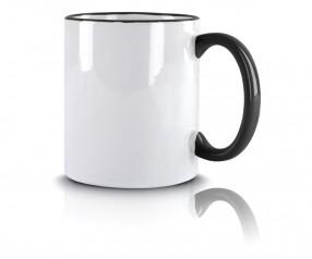 Tasse Werbeartikel schwarz incl. High-Quality Druck