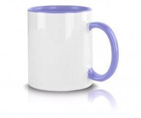 Tasse mit Werbeaufdruck hellblau incl. High-Quality Druck