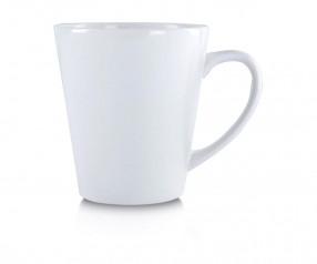 Kaffeetasse Werbeartikel weiss incl. High-Quality Druck