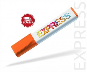 Textmarker bedrucken EXPRESS DIGITALDRUCK 6 TAGE Schneider 150 orange