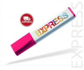Textmarker Werbegeschenk EXPRESS DIGITALDRUCK 6 TAGE Schneider 150 pink