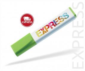Textmarker Werbemittel EXPRESS DIGITALDRUCK 6 TAGE Schneider 150 grün