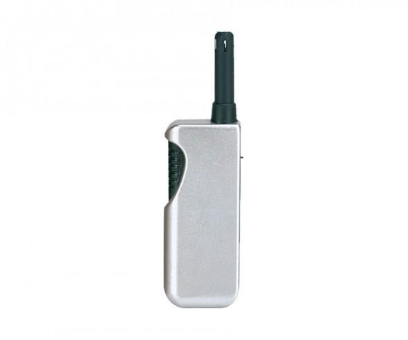 Unilite Stabfeuerzeug Metallic Silber BRUSSELS 49
