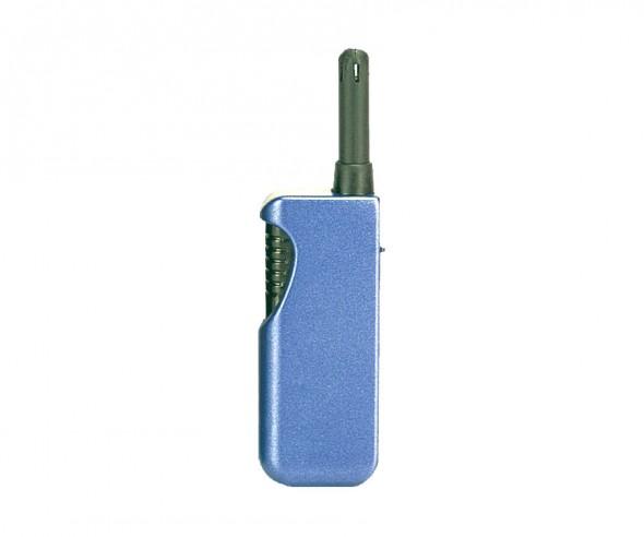 Unilite Stabfeuerzeug Metallic Blau BRUSSELS 43
