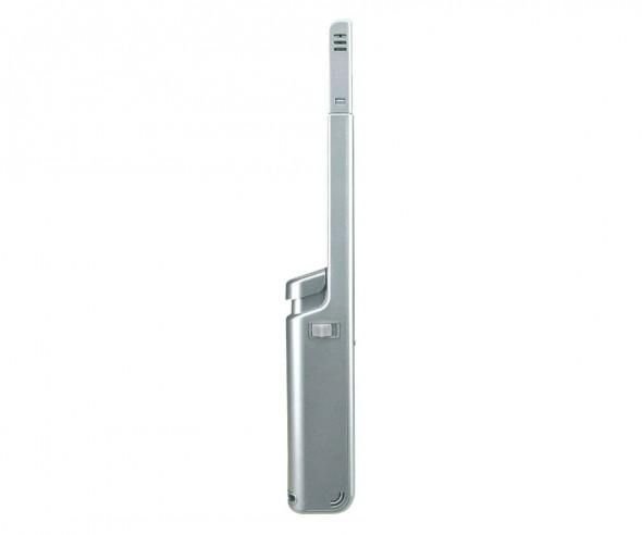 Unilite Stabfeuerzeug Metallic Silber PRAGUE NT 49