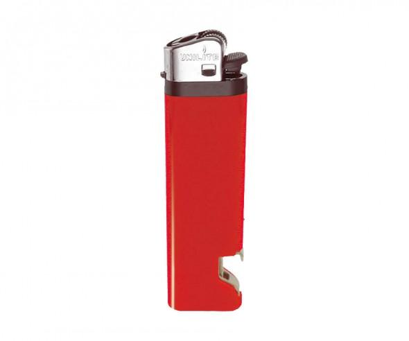 Unilite Reibradfeuerzeug HC Rot U-30 OP 02