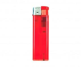 Unilite Elektronik-Feuerzeug Transluzent Rot U-59 62