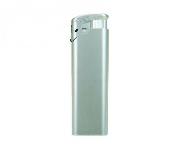 Unilite Elektronik-Feuerzeug Metallic Silber U-828 49