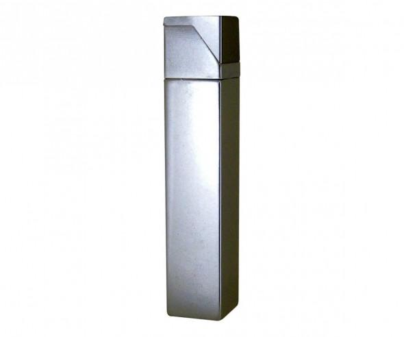 TOM Metall-Feuerzeug Metallic Silber EB-055 49