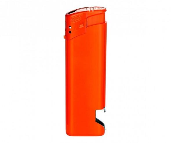 TOM Elektronik-Feuerzeug HC Orange EB-15 OP 08