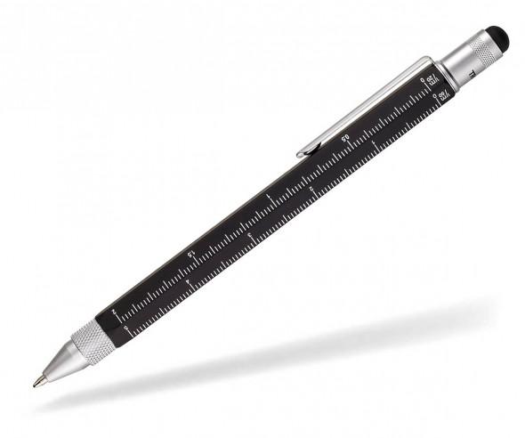 TROIKA PIP20 BK CONSTRUCTION Multifunktions-Kugelschreiber schwarz
