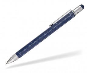 TROIKA PIP20 BL Multifunktions-Kugelschreiber CONSTRUCTION blau