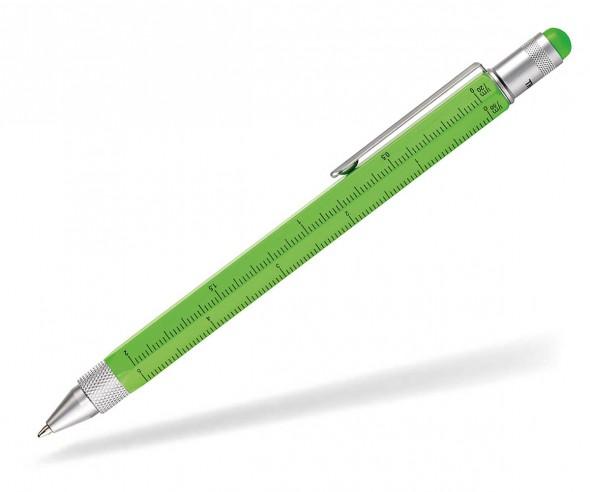 TROIKA PIP20 NG Multifunktions-Kugelschreiber CONSTRUCTION neon grün