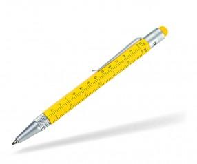 TROIKA Construction Kugelschreiber Mini PIP22 gelb