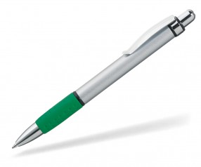 UMA ARGON Kugelschreiber 09400 silber grün