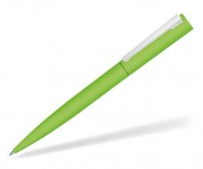 UMA BRUSH 09610 GUM Drehkkugelschreiber gummiert in hellgrün