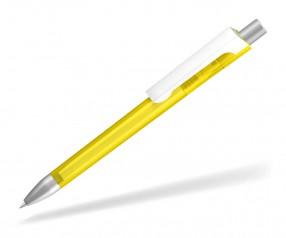 UMA CHECK 1-0142 TF KG TOP SI Kugelschreiber gelb