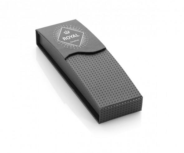 UMA Kugelschreiber Magnet-Klappetui schwarz 0-0917