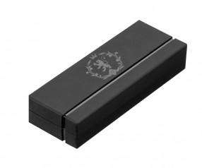 UMA Edles Case Etui mit Ziernaht für ein oder zwei Schreibgeräte 00918