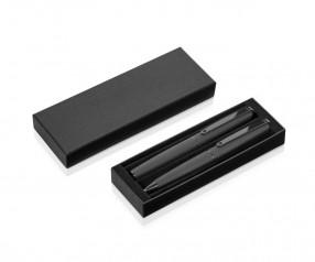 UMA Zweiteiliges Pappetui mit Deckel und W-Einlage für ein oder zwei Schreibgeräte 00944