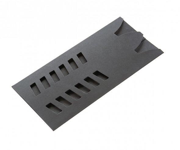 UMA Pappstecketui 0-0942 für 2 Kugelschreiber schwarz