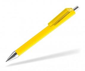 UMA FUSION 0-0155 SI F Kugelschreiber gelb