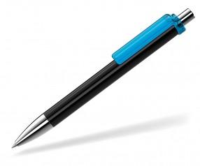 UMA Kugelschreiber FASHION 00134 SI schwarz hellblau