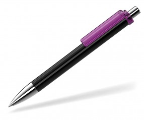 UMA Kugelschreiber FASHION 00134 SI schwarz violett