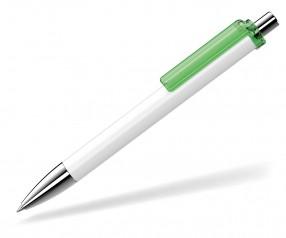 UMA Kugelschreiber FASHION 00134 SI weiss hellgrün