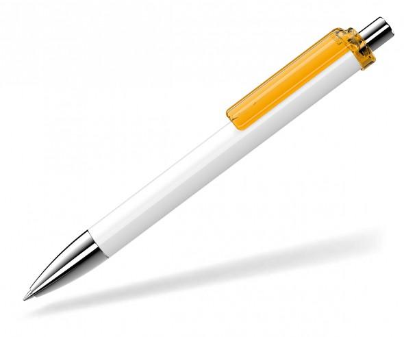 UMA Kugelschreiber FASHION 00134 SI weiss ocker