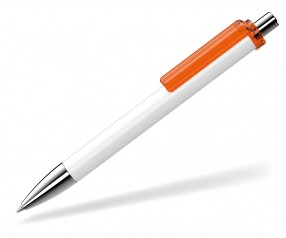 UMA Kugelschreiber FASHION 00134 SI weiss orange