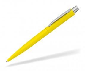 UMA LUMOS GUM 0-9560 gummierter Metallkugelschreiber gelb