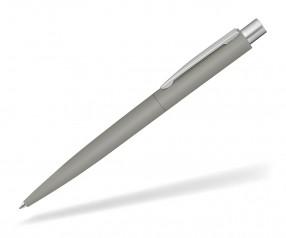 UMA LUMOS GUM 0-9560 gummierter Metallkugelschreiber grau