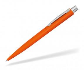 UMA LUMOS GUM 0-9560 gummierter Metallkugelschreiber orange