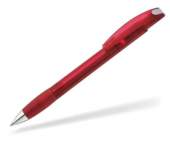UMA Kugelschreiber MEMORY TSI 00112 transparent rot