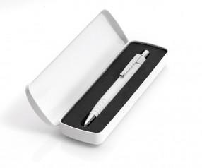 UMA Metalletui 0-0962 für ein oder zwei Kugelschreiber weiss