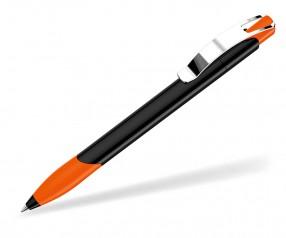 UMA OMEGA GRIP M Kugelschreiber 00531 schwarz orange