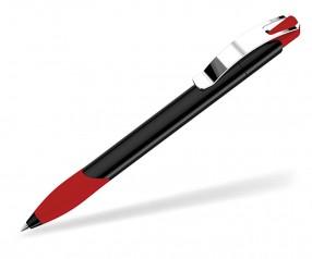 UMA OMEGA GRIP M Kugelschreiber 00531 schwarz rot