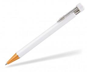 UMA PREMIUM Kugelschreiber 63000 weiss orange