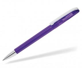 UMA PUR Werbekugelschreiber 00146 TSI transparent violett